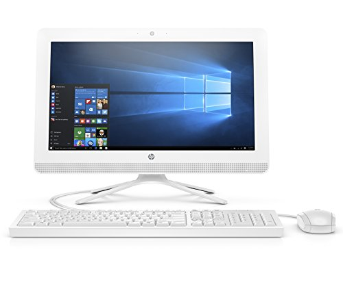 HP 20-inch All-in-One Computer, Intel Celeron...