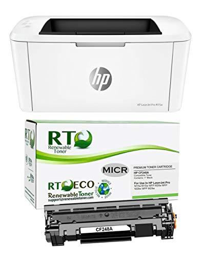 Renewable Toner Laserjet M15w Check Printer...