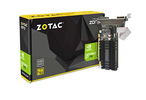 ZOTAC GeForce GT 710 2GB DDR3 PCI-E2.0 DL-DVI...