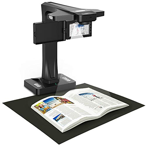eloam Portable Book & Document Scanner, Auto...