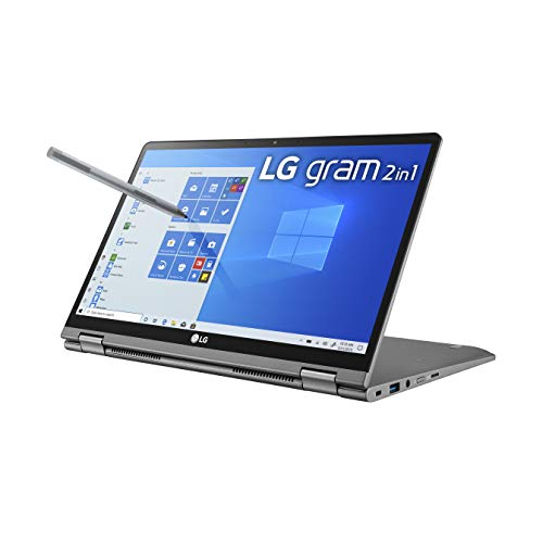 LG Gram 2-in-1 Convertible Laptop: 14' Full...