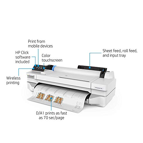 HP DesignJet T100 Large Format Compact...