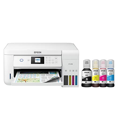 Epson EcoTank  Wireless Color All-in-One...