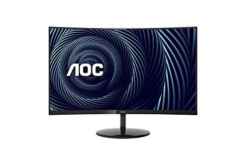 AOC CU32V3 32' Super-Curved 4K UHD Monitor,...