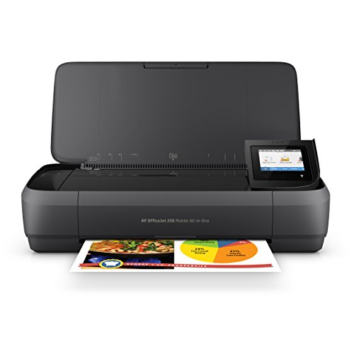 HP OfficeJet 250 All-in-One Portable Printer...