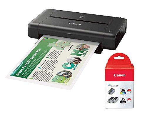Canon PIXMA iP110 Wireless Compact Mobile...