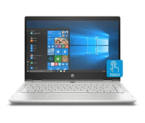 HP Pavilion X360 14-Inch Convertible Laptop,...
