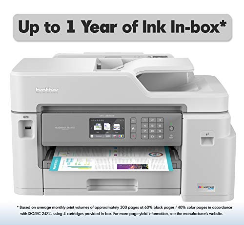 Brother Inkjet Printer, MFC-J5845DW,...