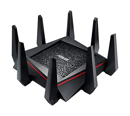 ASUS RT-AC5300 AC5300 Tri-band WiFi Gaming...