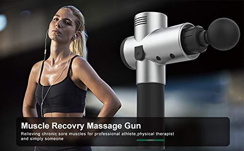 Silver Massage Gun for Massage Silver Massage...