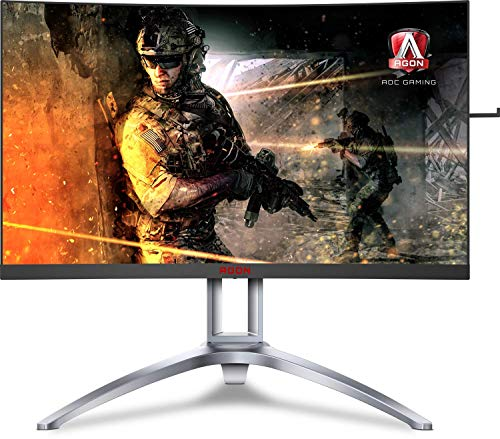 AOC Agon AG273QCX 27' Curved Gaming Monitor,...