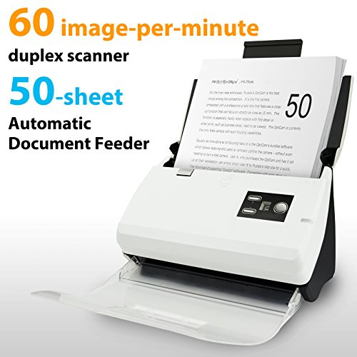Plustek PS30D Duplex Document Scanner: with...