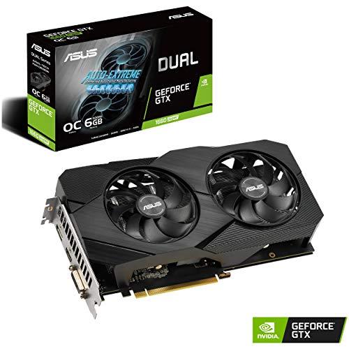 Asus GeForce GTX 1660 Super Overclocked 6GB...