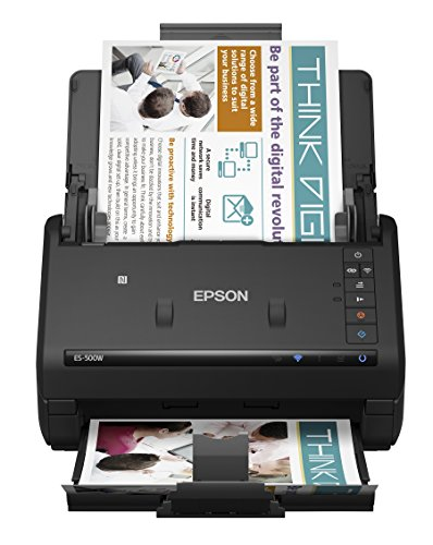 Epson WorkForce ES-500W Wireless Color Duplex...