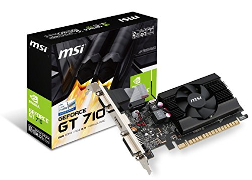 MSI Gaming GeForce GT 710 2GB GDRR3 64-bit...