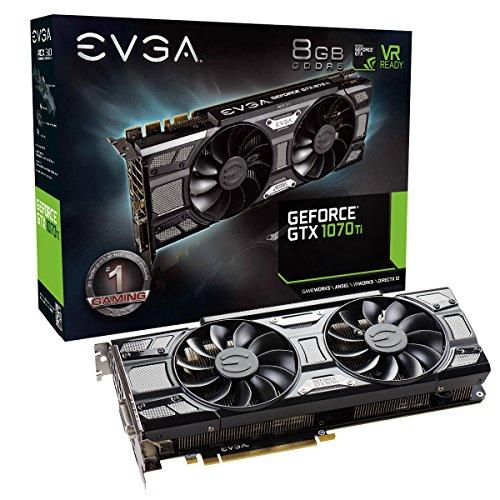 EVGA GeForce 08G-P4-5671-KR, GTX 1070 Ti SC...