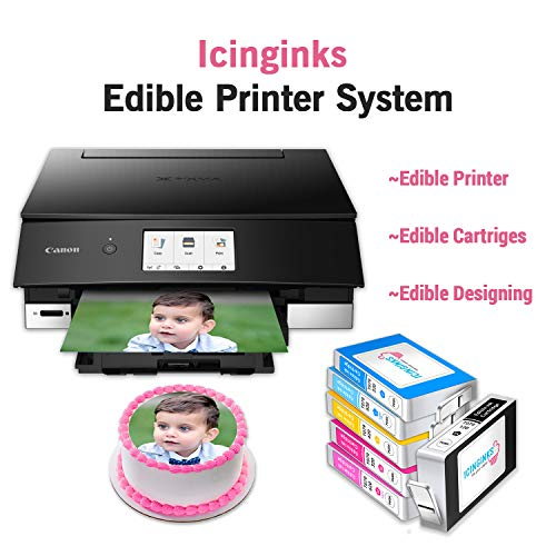 Icinginks Cake Printer Bundle System -...