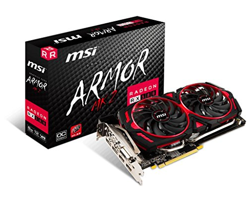 MSI Gaming Radeon RX 580 256-bit 8GB GDRR5...