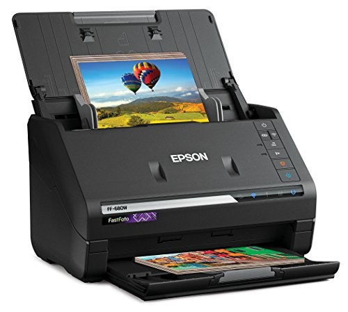 Epson FastFoto FF-680W Wireless High-Speed...