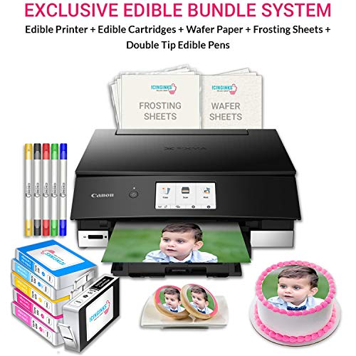 Icinginks Cake Printer Art Package includes...