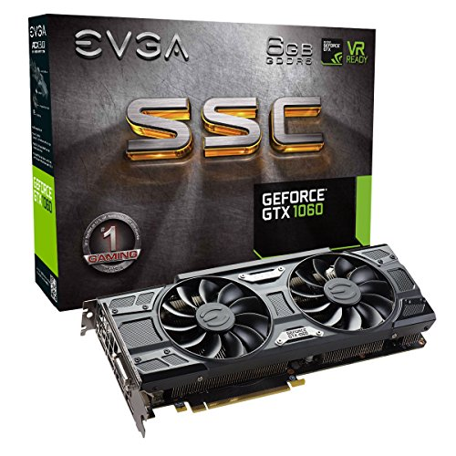 EVGA GeForce GTX 1060 SC GAMING, ACX 2.0...