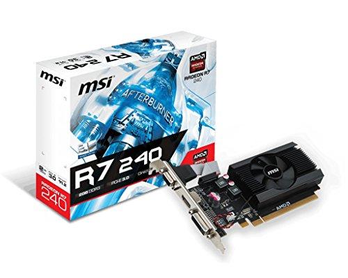MSI AMD Radeon R72402364P 2GB DDR3...