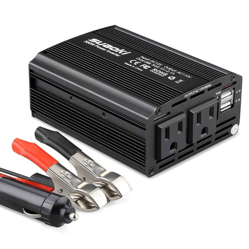 Car Battery with an Inverter