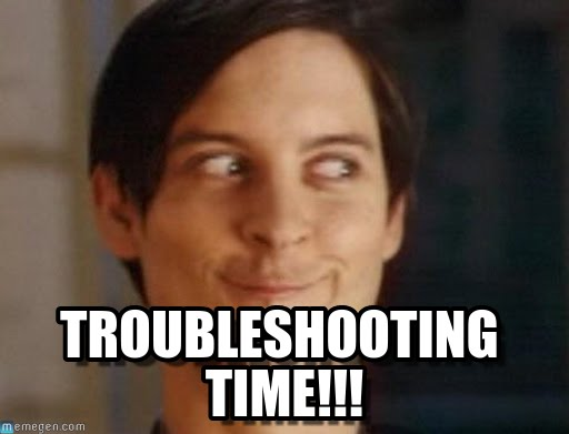 troubleshooting meme