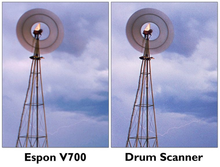 Drum Sanner vs Flatbed Scanner