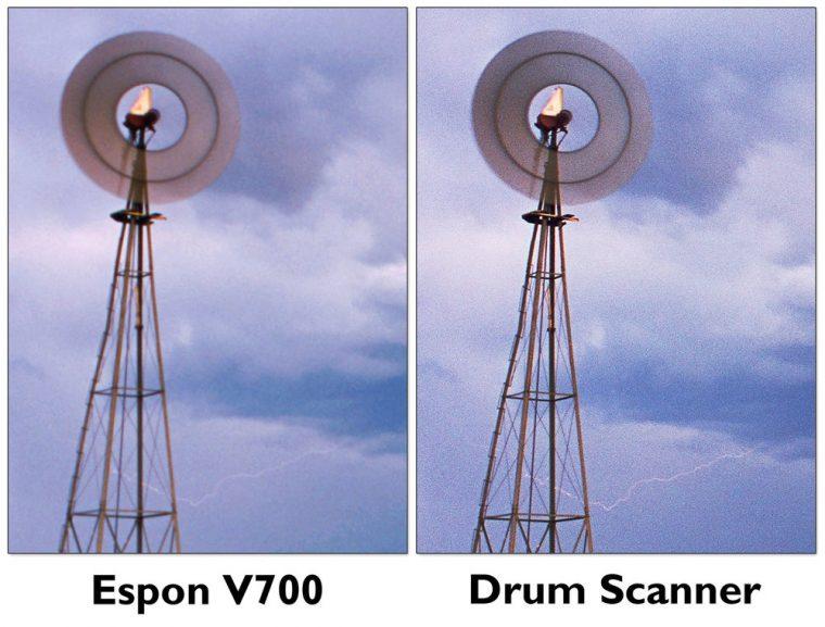Drum Sanner vs Flatbed Scanner