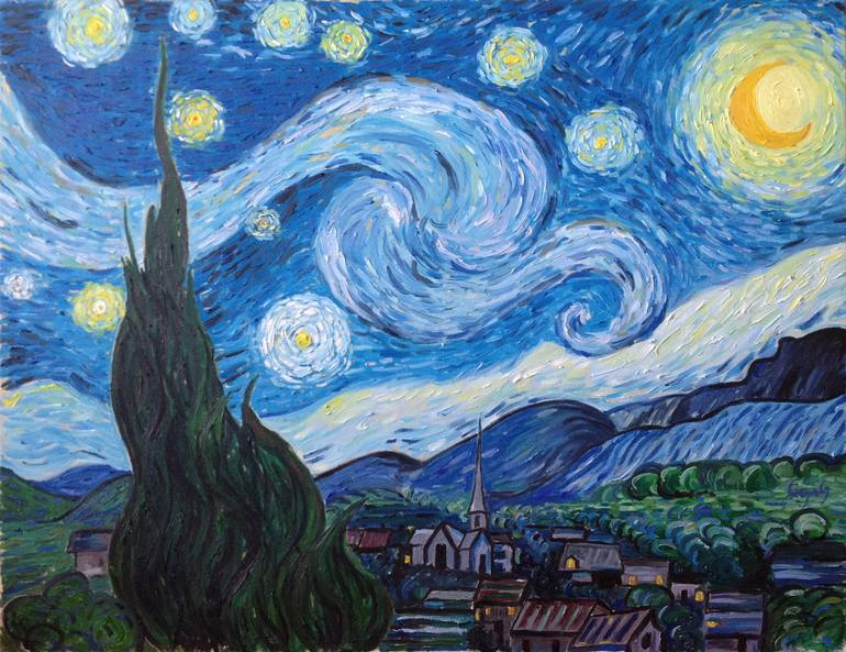 Van Gogh's The Starry Night