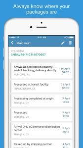 parcels app
