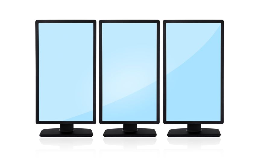 what are vertical monitors