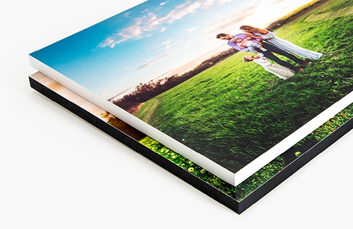 difference between mounted print vs canvas print