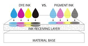 where does printer ink come from