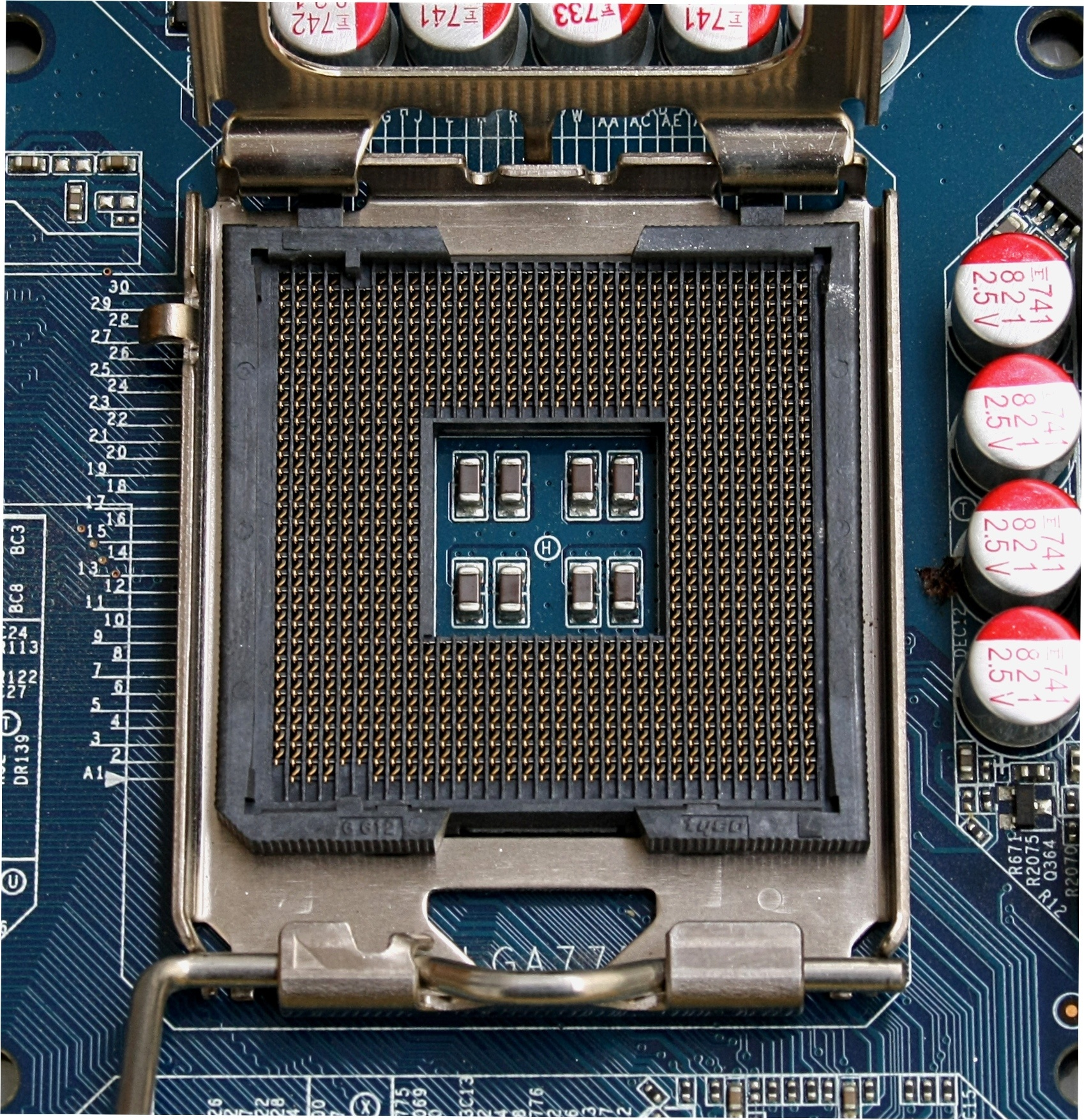 Motherboard socket