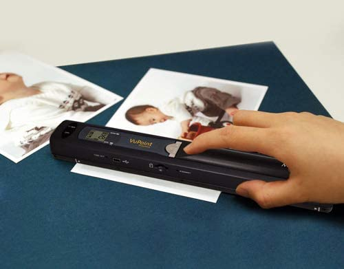 VuPoint Wand Portable Scanner