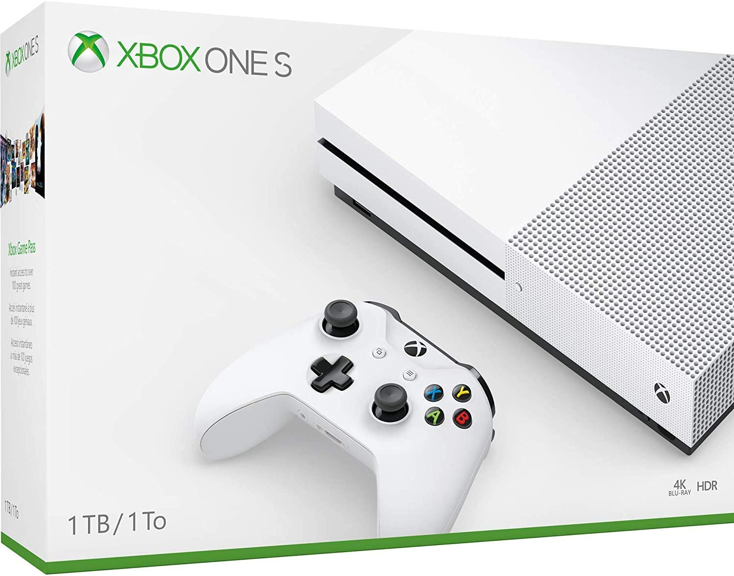 Xbox One S Boxed